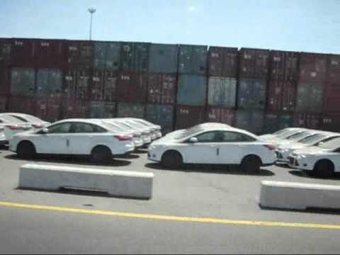 Ashdod port motorized patrol largest and newest סיור  בנמל אשדוד