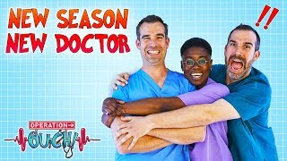 !NEW SEASON NEW DOCTOR! | Dr. Ronx in A&E | Operation Ouch | Science for Kids