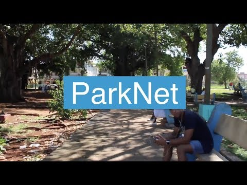 ParkNet - The state of internet censorship in Cuba