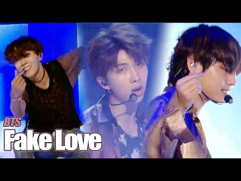 [HOT] BTS  - FAKE LOVE , 방탄소년단 - FAKE LOVE   Show Music core 20180609