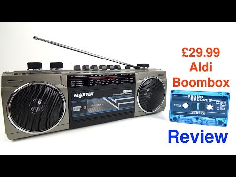 Aldi Specialbuys - Cassette Boombox Review (8 Jun 17)