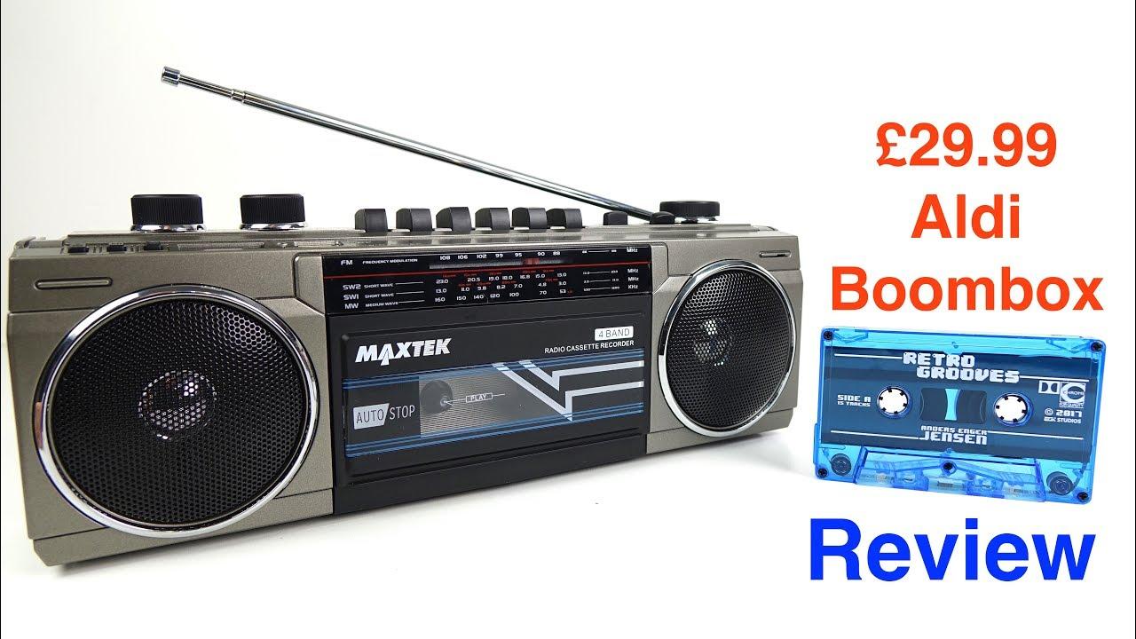 aldi specialbuys cassette boombox review 8 jun 17. Black Bedroom Furniture Sets. Home Design Ideas