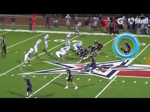 Cooper McCollum, 2020 Quarterback,  Wimberley High School, 2017  Varsity Football Highlights