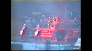 ZZ Top - Cologne, Germany - 1991 - Manic Mechanic