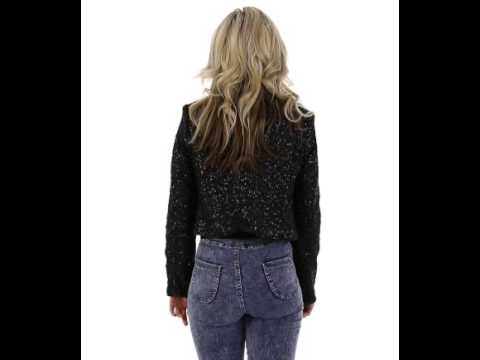 Missbehaver.com Black Sequin Jacket