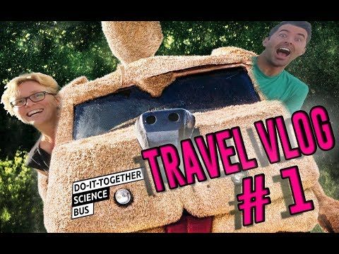 Travel Vlog #1 Mark and Charlotte sailing into Slovenia for the Pippy Longstocking Festival