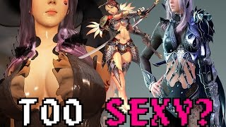 ARE GAMES OVERSEXUALIZED?
