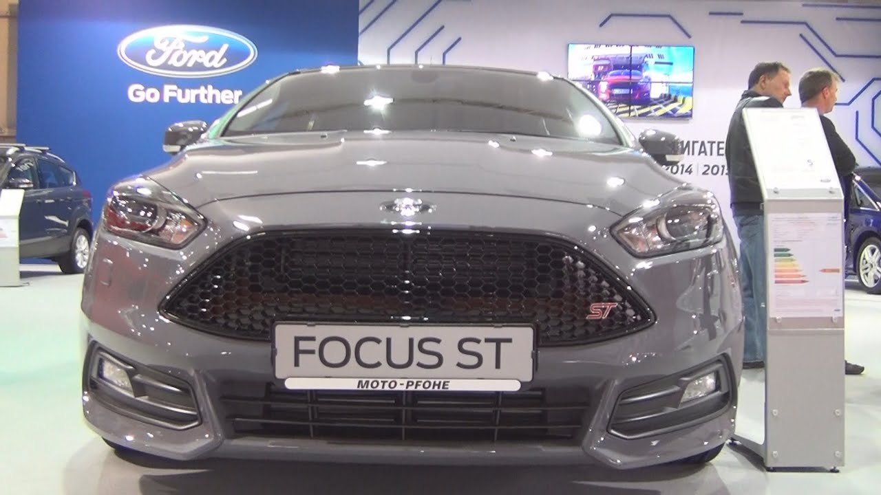 ford focus st 3 2 0 ecoboost 250 hp 2016 exterior and. Black Bedroom Furniture Sets. Home Design Ideas