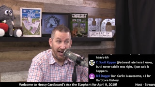 HC Ask the Elephant (Q & A) for April 9, 2019