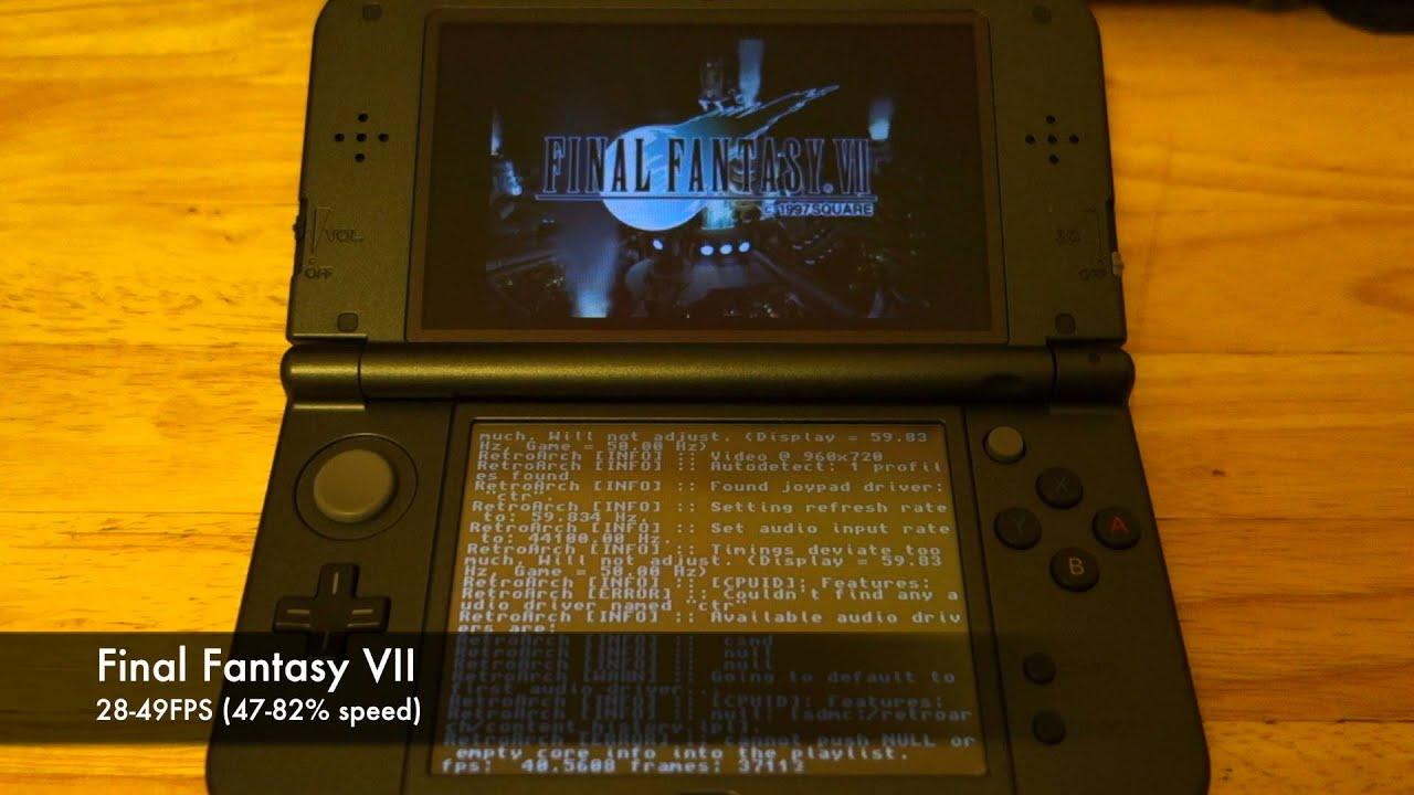 Playstation Emulator on N3DS Test ( cia via CFW) by Neko Michi