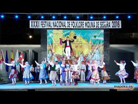 FESTIVAL NACIONAL DE FOLKLORE. MOLINA DE SEGURA 2016