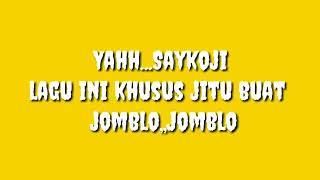 Gambar cover Lirik lagu jomblo Saykoji