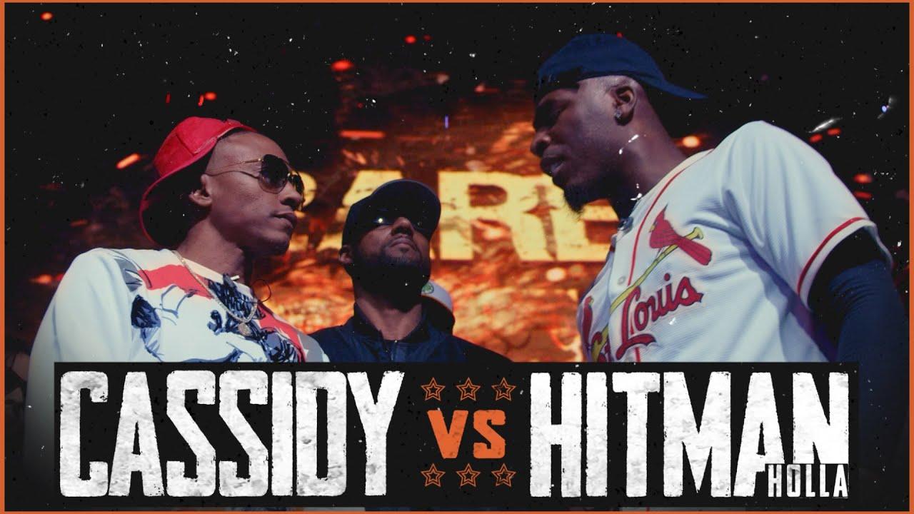Download CASSIDY VS HITMAN HOLLA EPIC RAP BATTLE - RBE