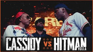 CASSIDY VS HITMAN HOLLA EPIC RAP BATTLE - RBE