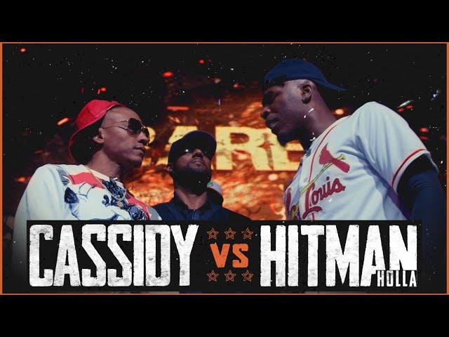 CASSIDY VS HITMAN HOLLA EPIC RAP BATTLE - RBE