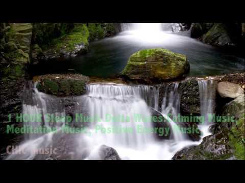 1 HOUR Sleep Music Delta Waves:Calming Music,  Meditation Music, Positive Energy Music,