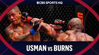 Kamaru Usman vs Gilbert Burns: Usman rocks Burns for 3rd round TKO | UFC 258 | CBS Sports HQ