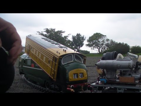 Live Diesel Locomotive TEST02/How to drive&any Testing
