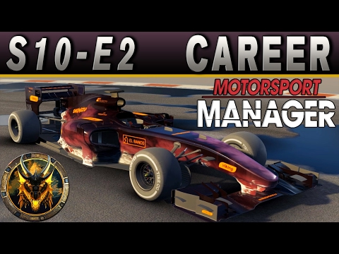 Motorsport Manager PC Career Mode S10E2 - THREE TIMES A CHARM!