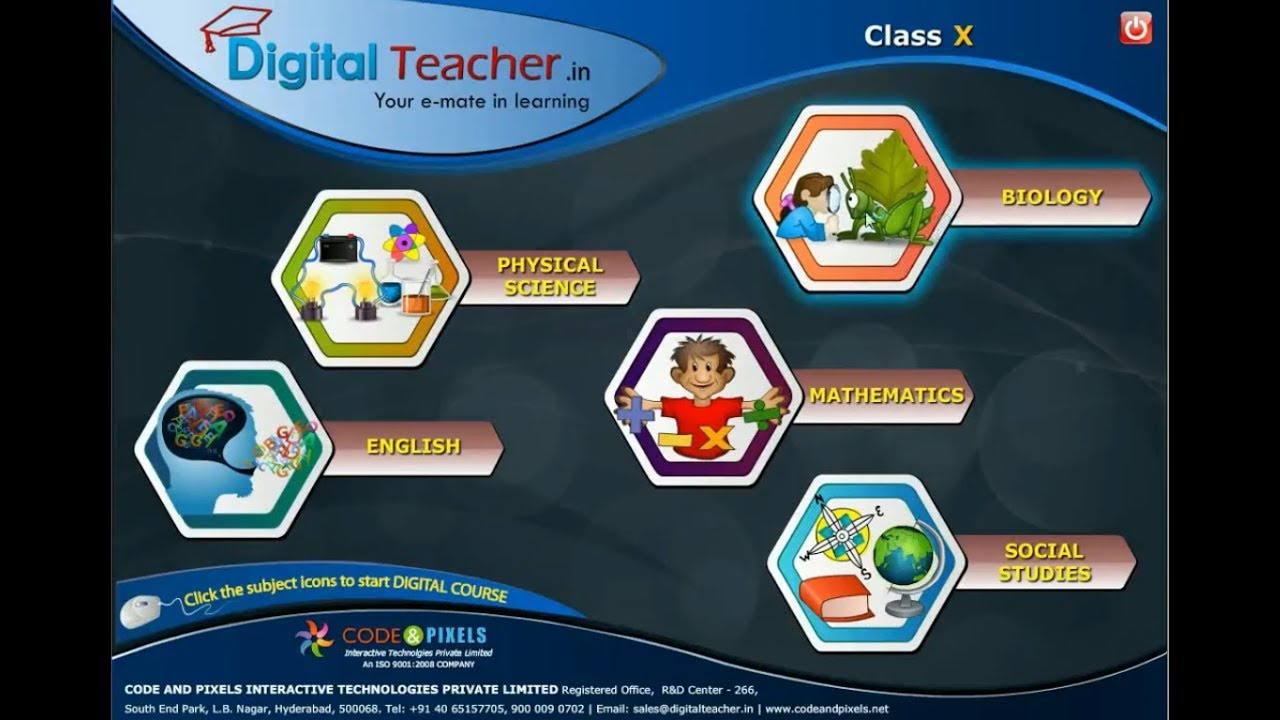 How to use digital teacher software full demo - English version