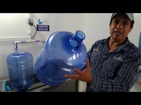 LAVADORA DE BOTELLONES diseño Original Water Solutions Internacional