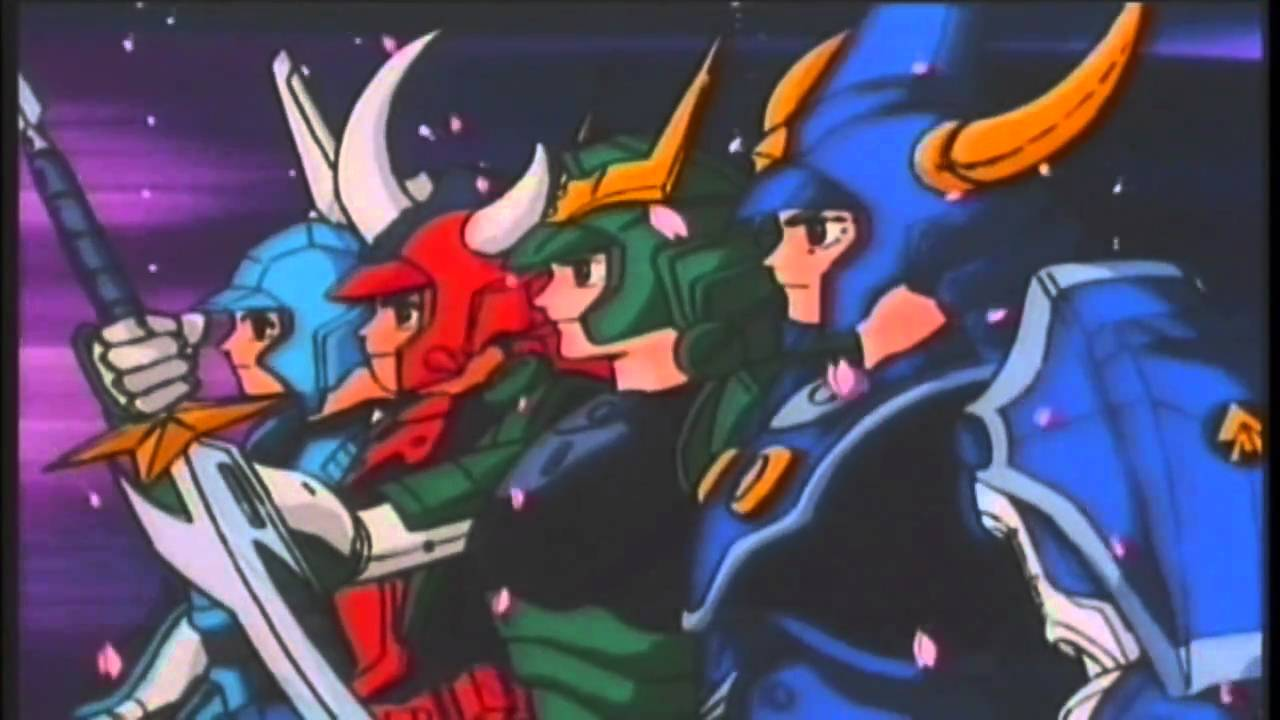 Ronin warriors episode 2 hd part 2 of 2 youtube - Ronin warriors warlords ...