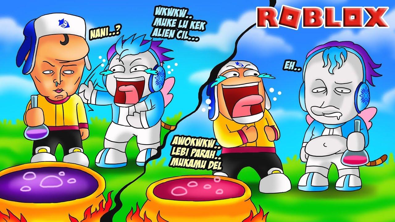 PAKSA MOCIL MINUM RAMUAN SPESIAL JADI ALIEN MENGERIKAN DI ROBLOX!!