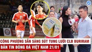 VN Sports 21/1 | Công Phượng trở lại tại đất Thái, Thủy Tiên -C.Vinh cầm 1 tỷ tiền mặt cứu 600 người