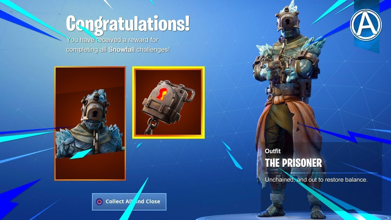 New The Prisoner Skin Unlocked Fortnite Battle Royale Live By