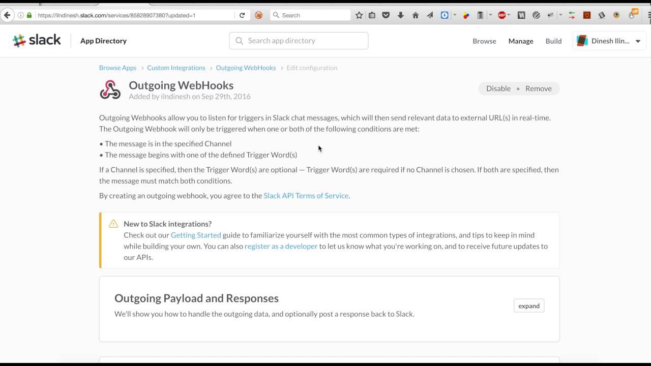 AWS serverless chatbot - On-demand Github over Slack