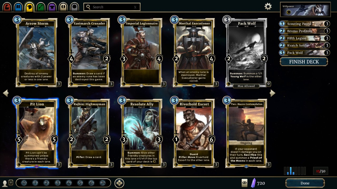Deck Building Guide Elder Scrolls