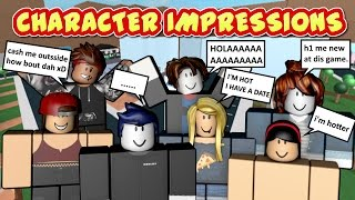TYPES OF PEOPLE ON ROBLOX
