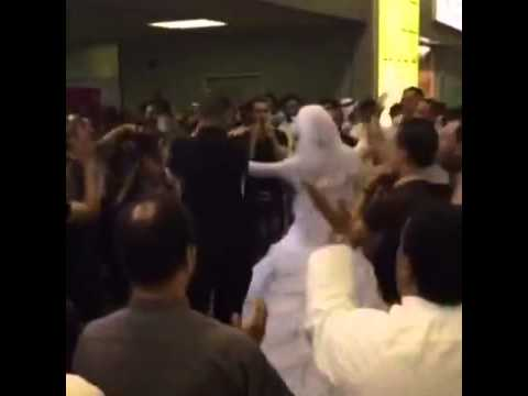 An Egyptian wedding at Kuwait international airport 2014