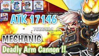 TERCYDUK !! SULTAN MECHANIC 888 DEADLY ARM CANNON !! RAGNAROK MOBILE
