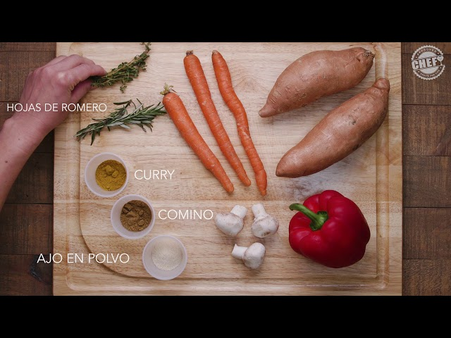 CHEF Culinary Skills: Spice & Herb Pairings (Spanish)