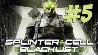 Lets Play Splinter Cell Blacklist Deutsch Part 5 German Walkthrough Gameplay 1080p