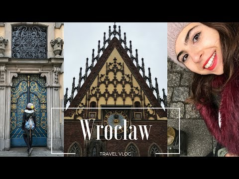 TRAVEL VLOGS ARE BACK! - Wroclaw, Poland