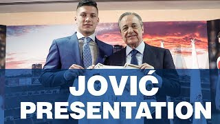 LIVE | Luka Jović's Real Madrid presentation