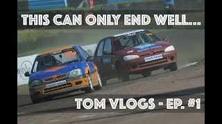Making my racing debut in rallycross! - Tom Vlogs Ep. #1