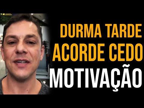 DURMA TARDE E ACORDE CEDO - EVANDRO GUEDES MOTIVAÇÃO