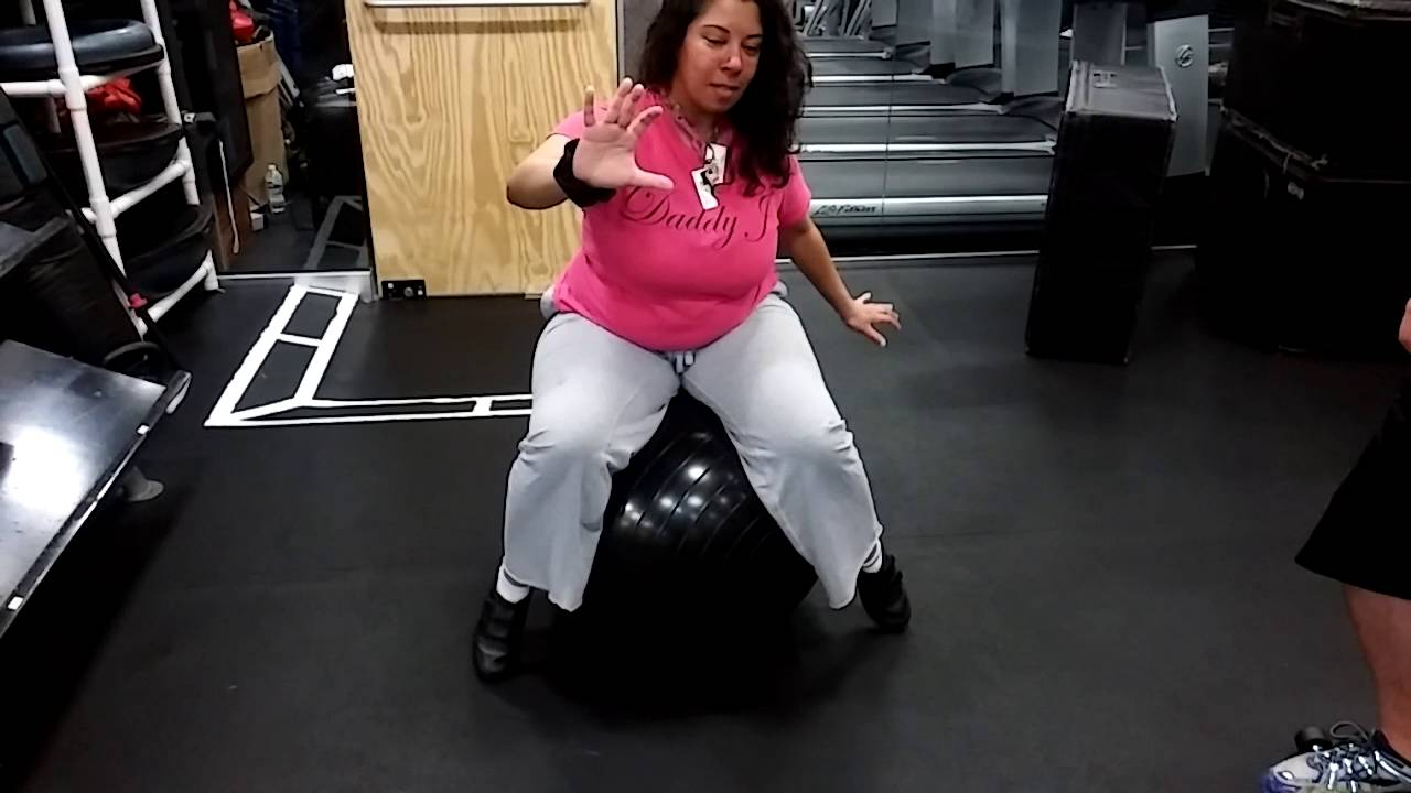zainab ali balancing on a gym ball xsport fitness massapequa zainab ali balancing on a gym ball xsport fitness massapequa