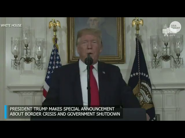 President Trump makes special announcement on the humanitarian crisis at the southern border