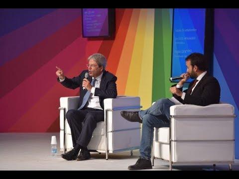 #ITALIA2020 – Intervista a Paolo GENTILONI - ore 21 - 16/9/17