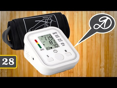 Fully Automatic Blood Pressure Monitor. Tonometer From China. Parcel AliExpress (28)
