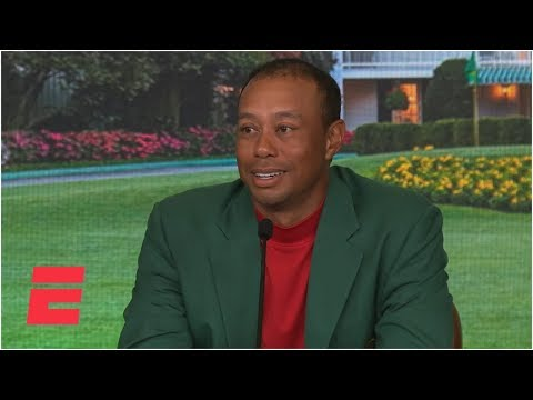 Tiger Woods reacts after 'unreal' win at The Masters | Golf