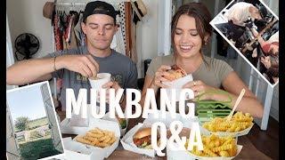 MUKBANG Q&A: SHAKE SHACK | Wedding Venue, My Tattoo...