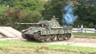 Panzer Panther im Gelände German Tank in Motion 2009 Trier