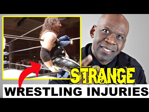 Doctor Reacts To WRESTLING INJURIES: Strange WWE Injuries And Other Wrestling Botches