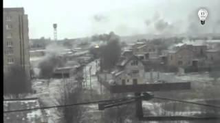 Обстрел Краматорска 10.02.2015