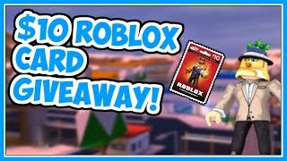 [Ended] Free $10 Roblox Card | 500 Subscribers Giveaway! - Roblox